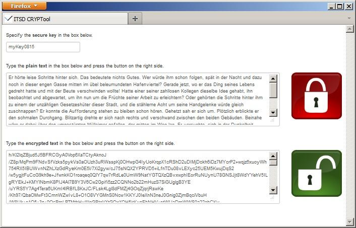 ITSD CRYPTool zum sicheren Verschlüsseln von Texten