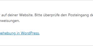 Weiße Seite im Frontend und/oder Backend von Wordpress